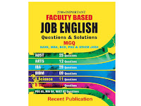 Faculty Based Job English Questions & Solutions - PDF