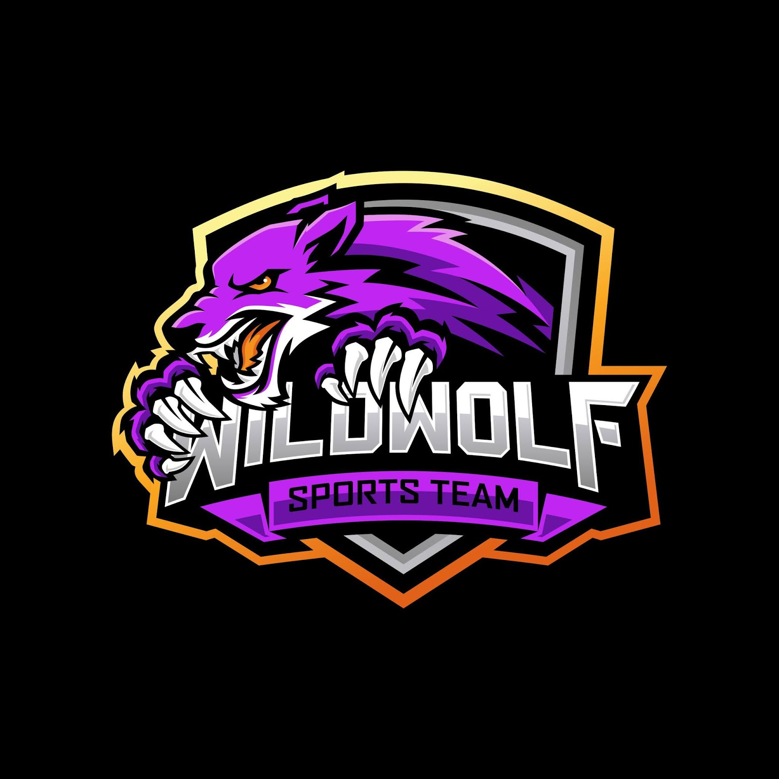 Wolf Esports Free Download Vector CDR, AI, EPS and PNG Formats