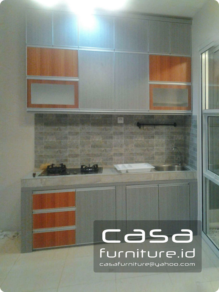 Kitchen Set Azura House Vanya Park Bsd Furniture Minimalis