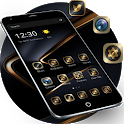 Golden Black Theme for P10 icon