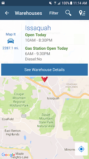 Costco Wholesale Screenshot