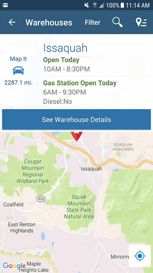 Costco Wholesale Android Apps On Google Play - Costco us locations map
