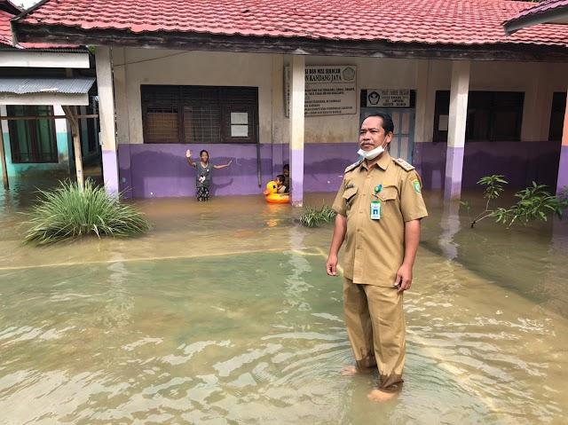Sekolah di Balangan Terdampak Banjir