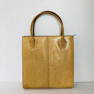 Place Vendôme Vintage Lizard Handbag
