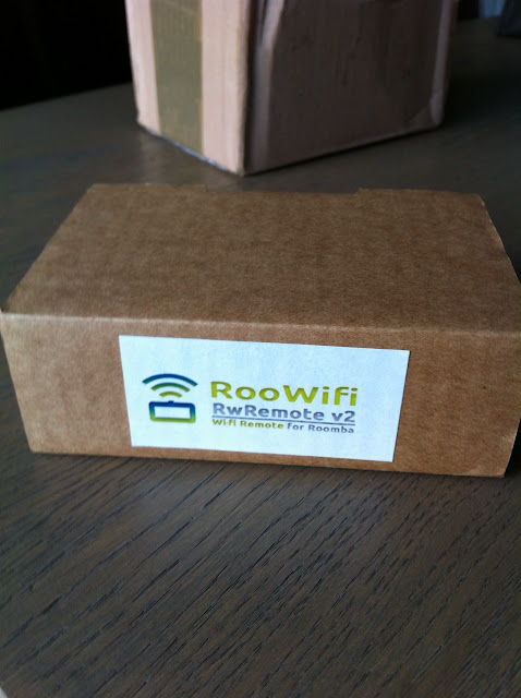 Photo%25201 A relire : test de la carte RooWifi pour aspirateur Roomba