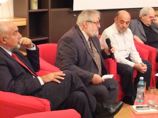 Lansare Lumea homerica - Aram Frenkian la Centrul Cultural Armean din Bucuresti 2012