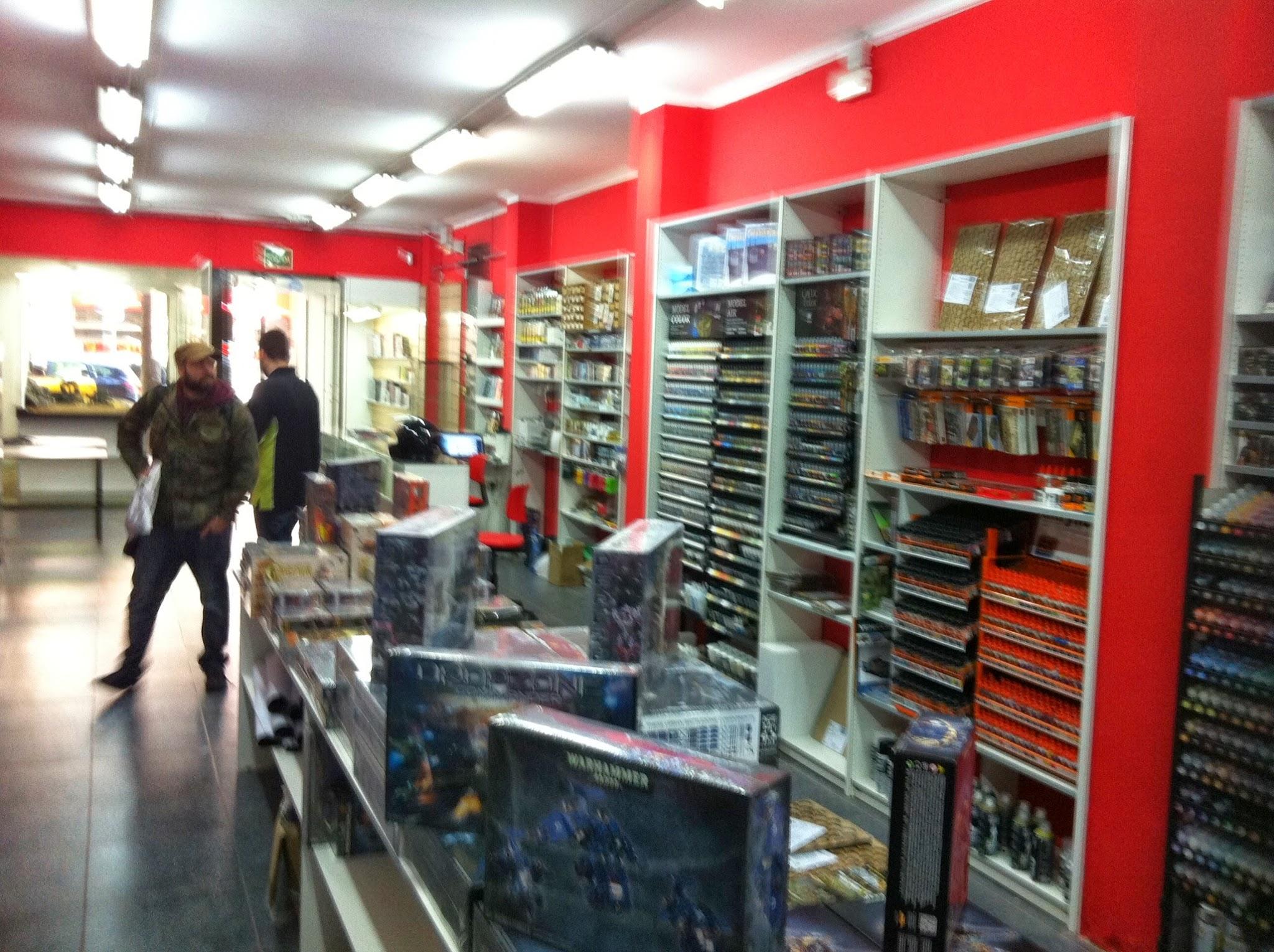 Barcelona, tiendas, tiendas frikis, Gigamesh, Goblin Trader, miniaturas, wargames, literatura, literatura fantástica, Sci fi, horror, Crying Grumpies, Crying Grumpies