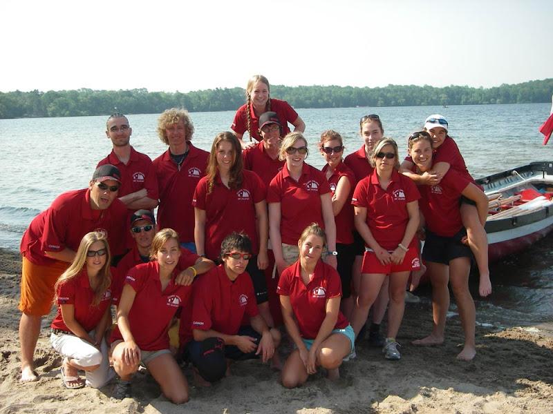 Équipe du Canada pour l'Atlantic challenge 2006 en Italie