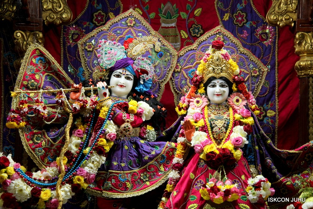 ISKCON Juhu Sringar Deity Darshan 20 Jan 2017 (7)