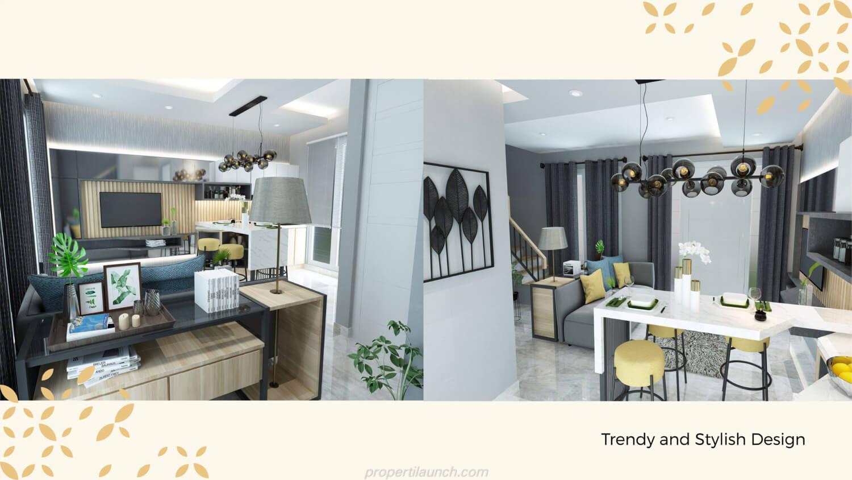 Design Rumah Monterrey Citraland Cibubur