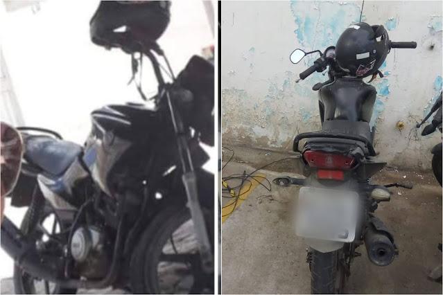 SMTT recupera moto furtada na feira livre de Jacobina