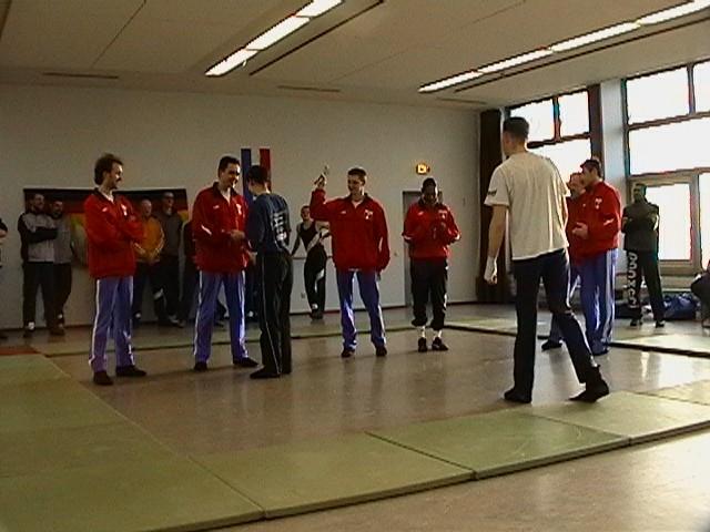 Freundschaftswett- kampf gegen das französiche Nationalteam 2003 - IMGA0154.JPG