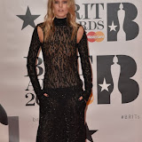 OIC - ENTSIMAGES.COM - Toni Garrn at the  The BRIT Awards 2016 (BRITs) in London 24th February 2016.  Raymond Weil's  Official Watch and  Timing Partner for the BRIT Awards. Photo Mobis Photos/OIC 0203 174 1069