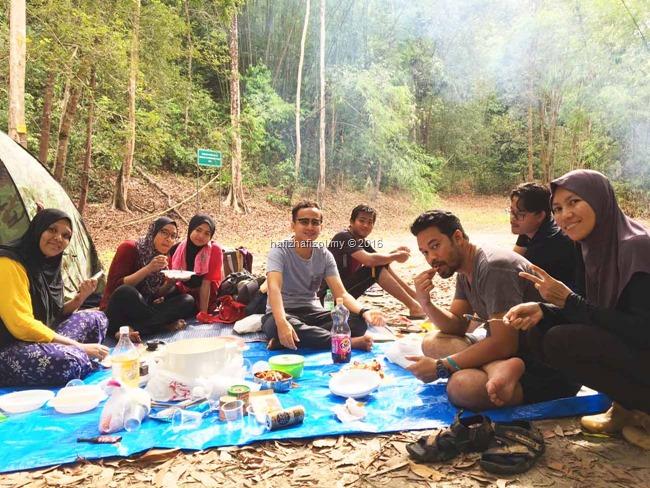 picnic di air terjun chamang bentong