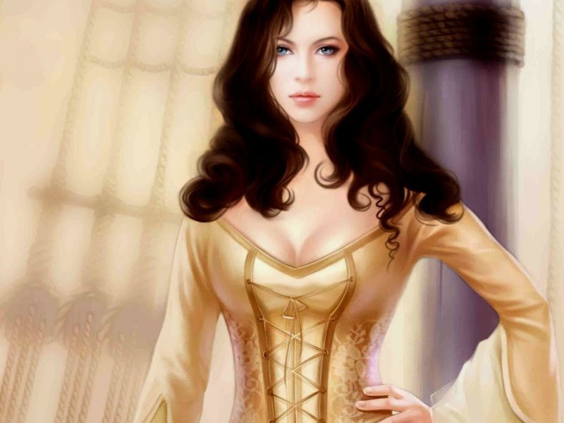 Princess In Golden Dress, Magic Beauties 3