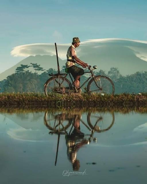 Kehidupan Di Kampung Indah Tanpa Gadget Pemandangan Desa Indonesia Naik Sepeda