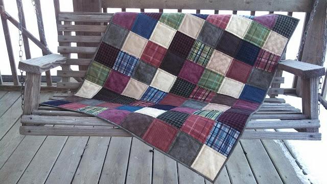 flannel squares quilt