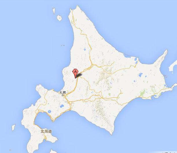 道の駅スタープラザ芦別・地図