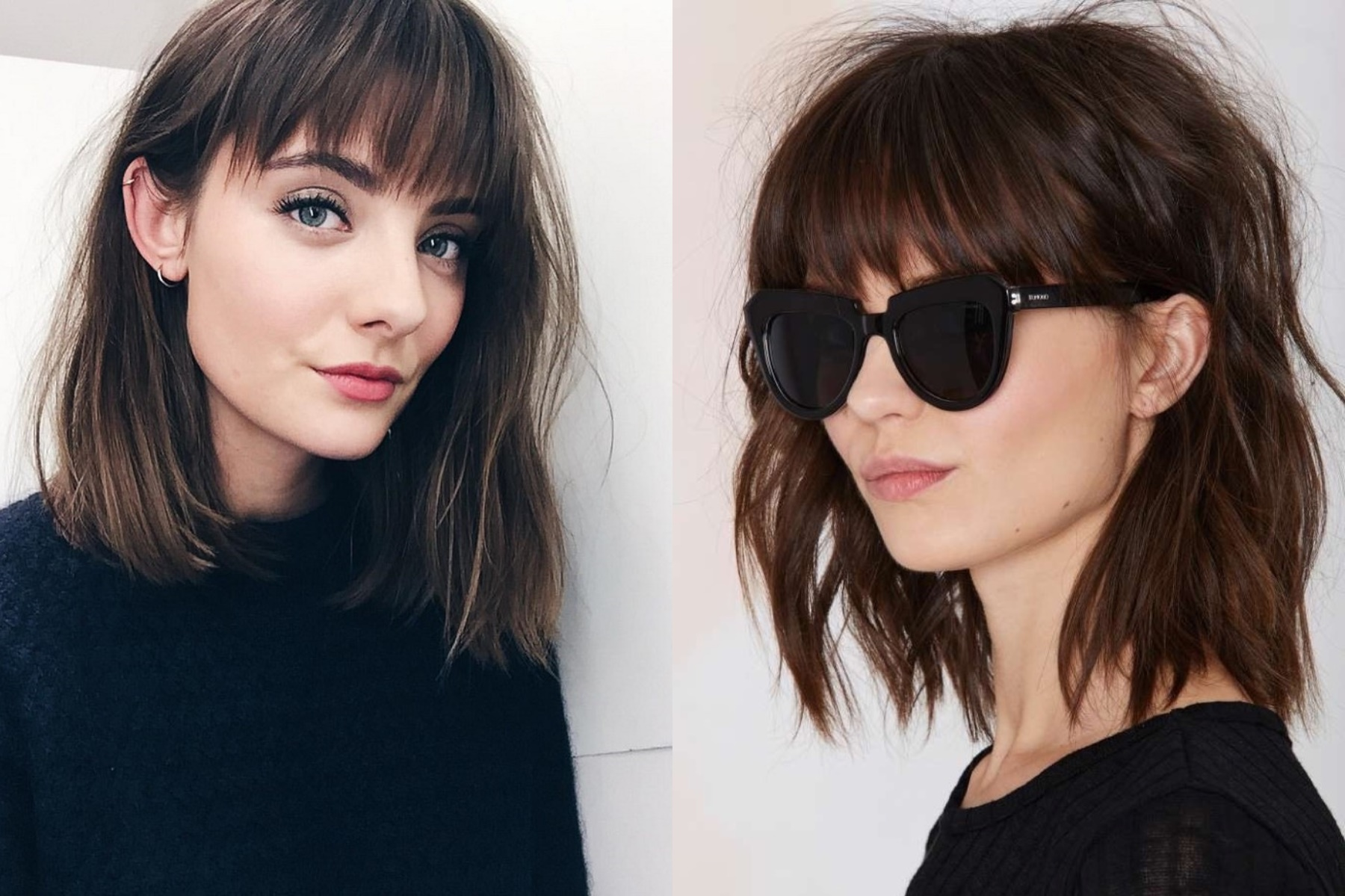Latest Ragged Bangs 2018 For Women's Hairstyles 1