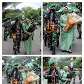 Kodim 0101/Aceh Besar Gelar Tradisi Lepas Sambut Jabatan Dandim