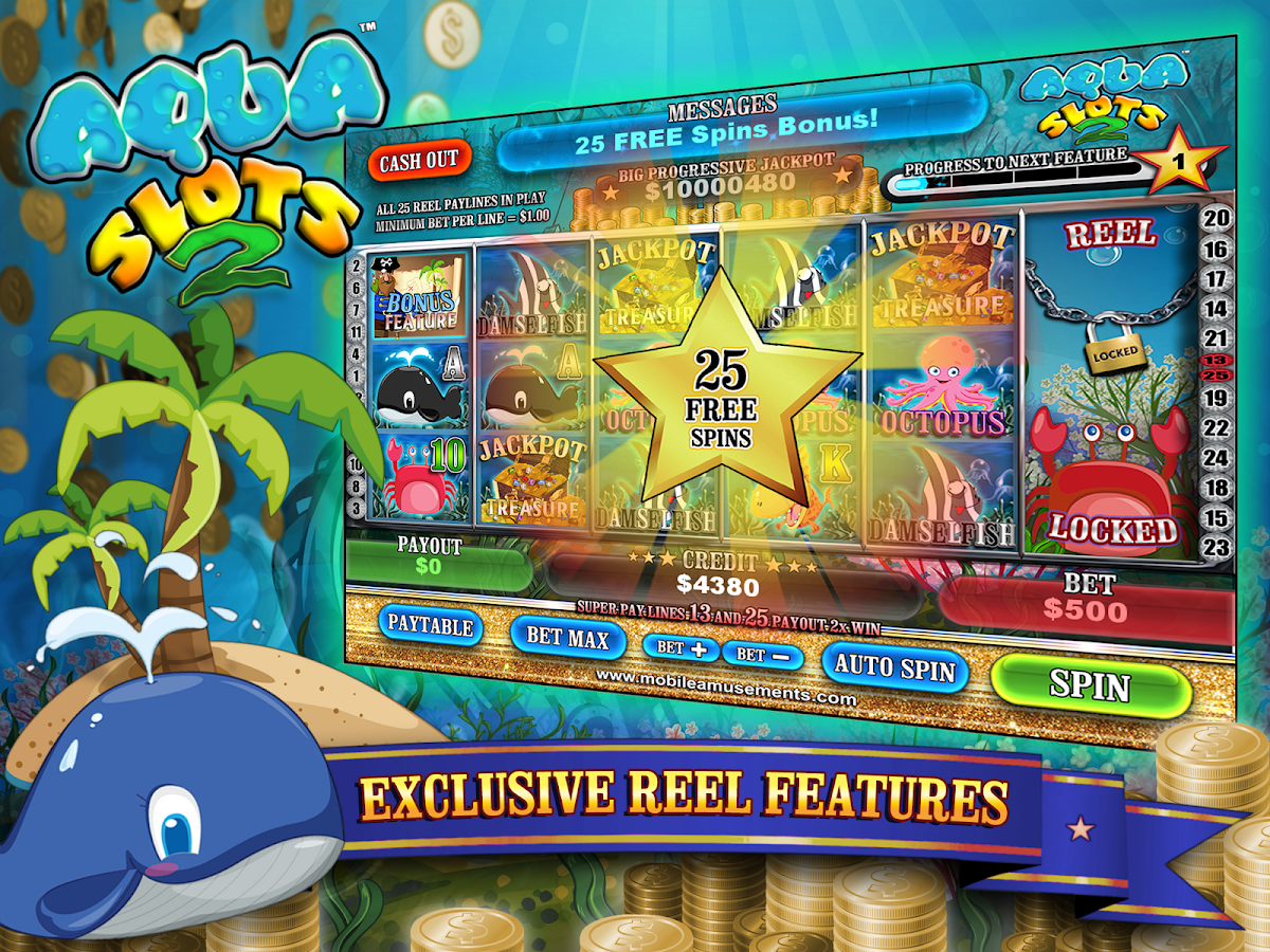 Aqua Slot - Play Free Casino Slot Machine Games