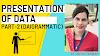 Presentation of Data-Geometric Diagram