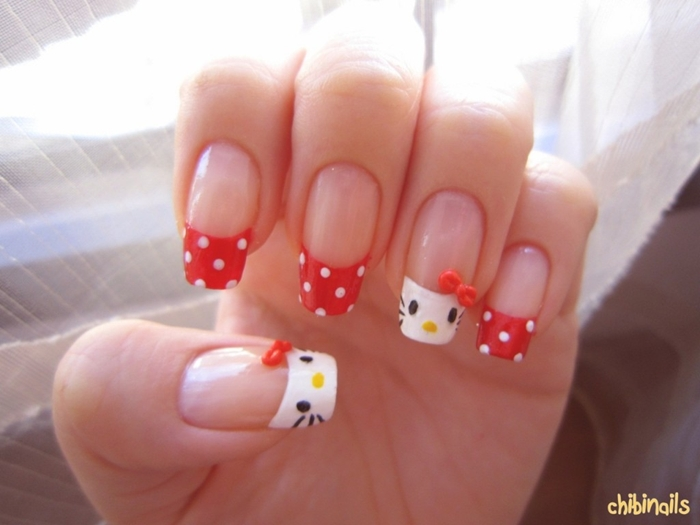 Best Kitty Cat Nail Paint Designs 2016 | Fashionte