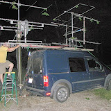 K8GP / Rover - FN10CA - Antennas take a beating by trees