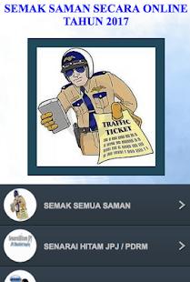 SEMAK SAMAN SECARA ONLINE 2017 - náhled