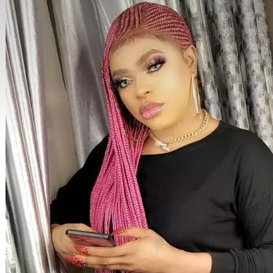 Bobrisky flaunts his New Shape and backside after Surgery