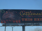 Cattleman's means time to stop