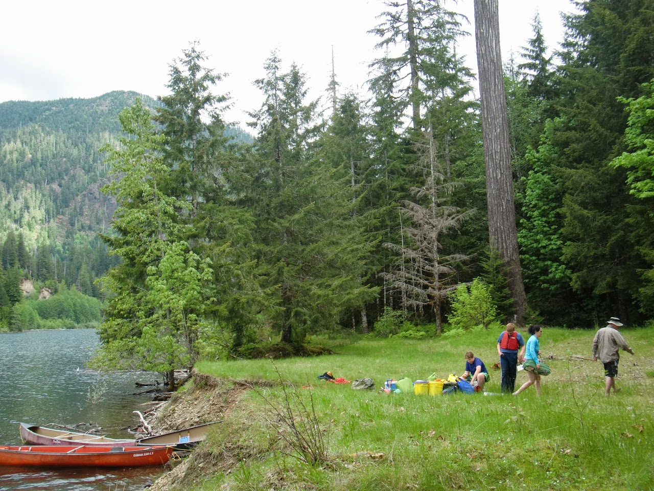 May 2014 Wynoochee Lake Camp/Canoe - CIMG5197.JPG
