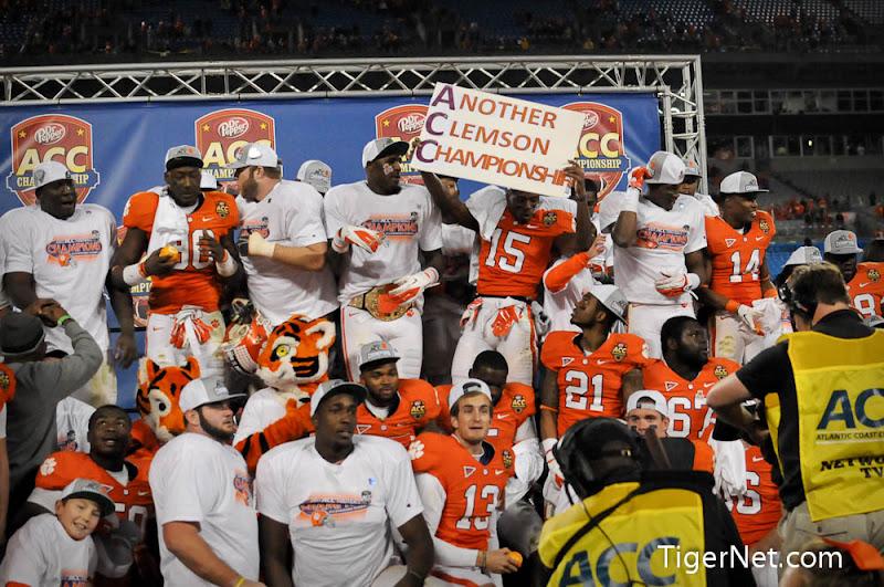 2011 ACC Championship Photos - 2011, ACC Championship, Celebration, Football, Virginia Tech