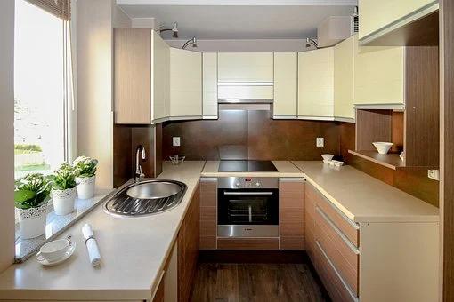 Desain Kitchen Set Minimalis kecil Tapi Fungsional