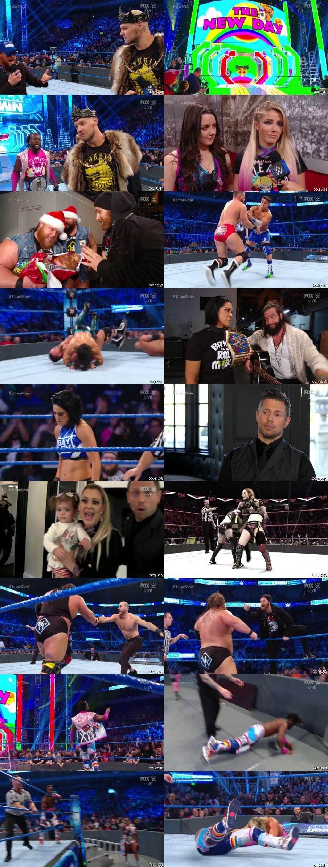 Screen Shot Of WWE SmackDown Live 13th December 2019 HDTV 480P 300MB