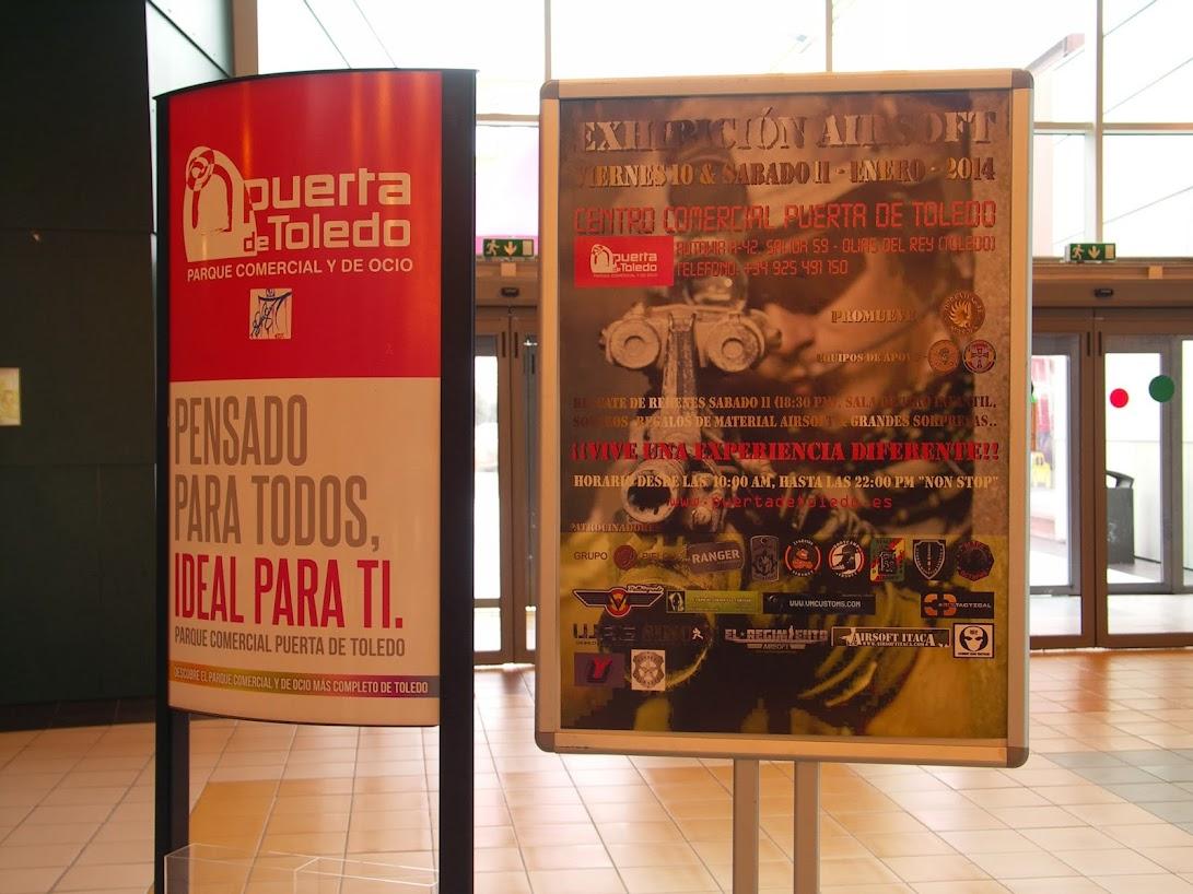 """EXHIBICION EN EL CENTRO COMERCIAL """"PUERTA DE TOLEDO"""". PICT0022"""