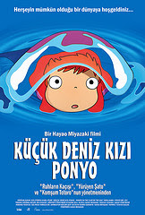 Küçük Deniz Kızı Ponyo - Ponyo On The Cliff By The Sea
