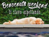 benvenuto weekend felice buon fine settimana amici facebook whatsapp divertente.png