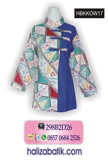 HBKKOW17 Grosir Batik, Toko Baju Online, Model Baju Terbaru, HBKKOW17