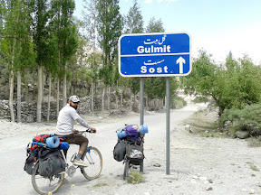 Passed Attabad Lake on ferry and reached Gulmit.