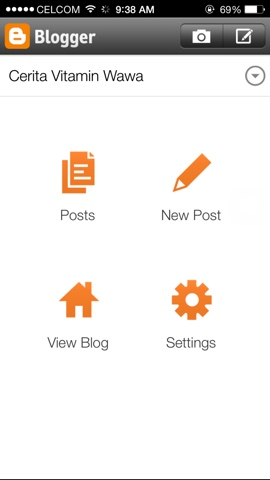 Blogger Apps Untuk Pengguna Iphone
