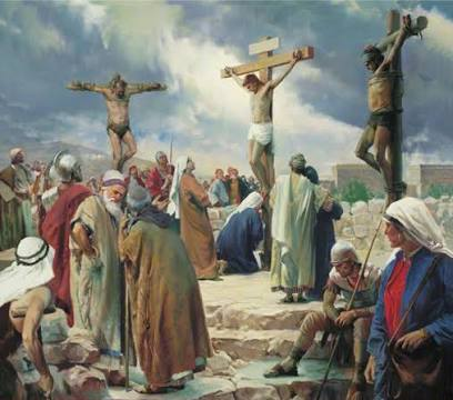 AT CALVARY: Devotion for Good Friday March 25, 2016