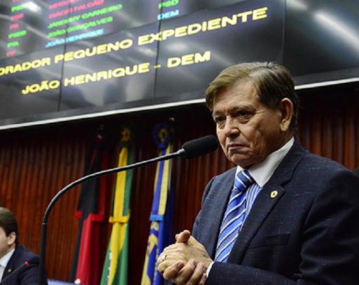 Velório de João Henrique deverá ocorrer na Assembleia Legislativa