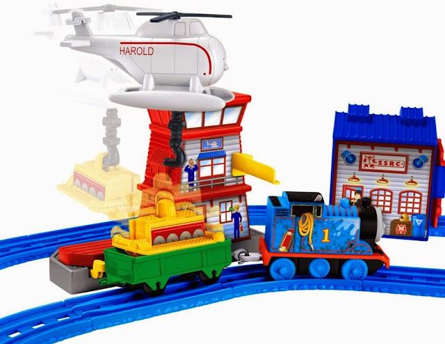 Đồ chơi tàu hỏa Thomas & Friends Sodor Search & Rescue Set thiết kế sinh động