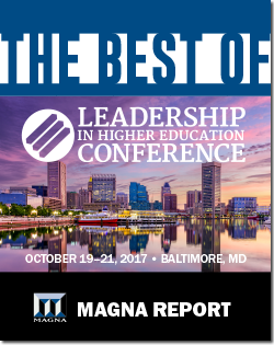 Best of Leadership In Higher Education