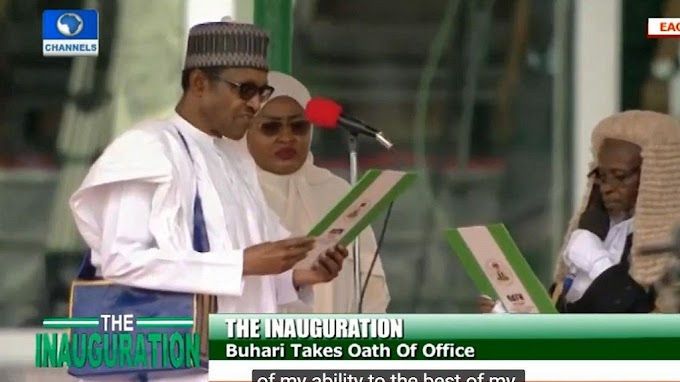 LIVE UPDATES: Inauguration day in Nigeria as Buhari, governors take oath of office