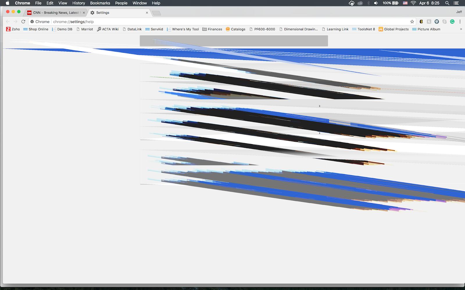 Glitch with Mac running OS X El Capitan - Google Chrome Help