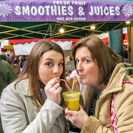 Smooth by Mark Thompson - Food & Drink Eating ( smoothie, borough market, juice, straw, drink,  )