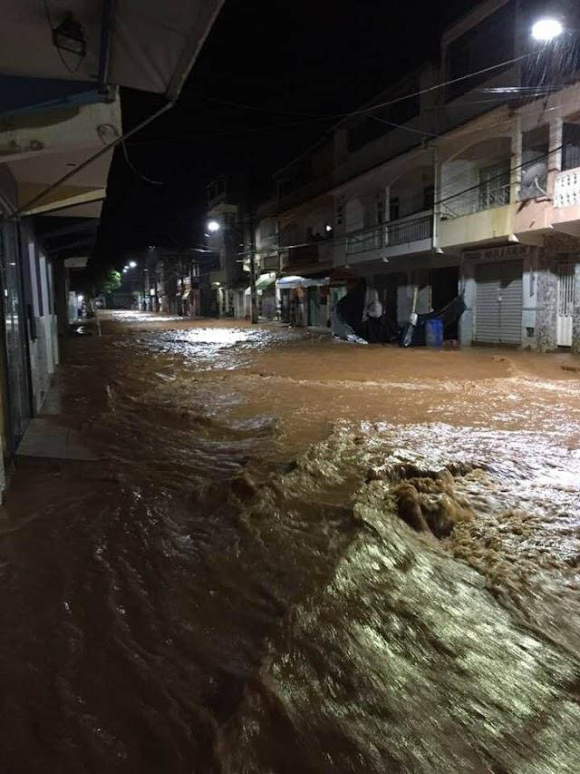 Divino e Carangola voltam a ficar em alerta após fortes chuvas em Orizânia