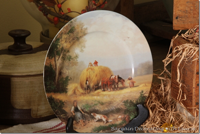 Fall Plate-Hay Farm